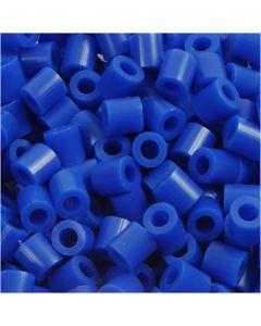 Rörpärlor, stl. 5x5 mm, Hålstl. 2,5 mm, medium, mörkblå (32232), 6000 st./ 1 förp.