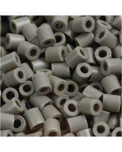 Photo Pearls, stl. 5x5 mm, Hålstl. 2,5 mm, askgrå (8), 6000 st./ 1 förp.
