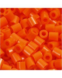Photo Pearls, stl. 5x5 mm, Hålstl. 2,5 mm, orange klar (13), 1100 st./ 1 förp.