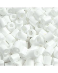 Photo Pearls, stl. 5x5 mm, Hålstl. 2,5 mm, vit (15), 1100 st./ 1 förp.