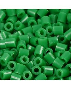 Photo Pearls, stl. 5x5 mm, Hålstl. 2,5 mm, grön (16), 1100 st./ 1 förp.