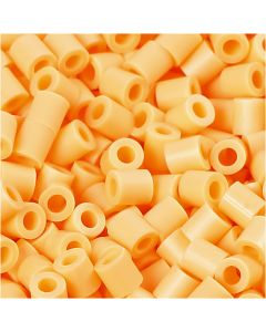 Photo Pearls, stl. 5x5 mm, Hålstl. 2,5 mm, ljusorange (26), 6000 st./ 1 förp.
