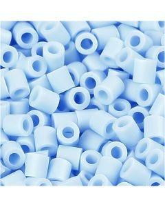 Photo Pearls, stl. 5x5 mm, Hålstl. 2,5 mm, ljusblå (28), 6000 st./ 1 förp.