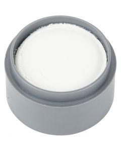 Grimas ansiktsfärg, vit, 15 ml/ 1 burk