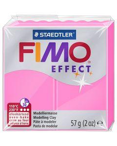 FIMO® Effect , neonrosa, 57 g/ 1 förp.