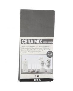 Cera-Mix Standard modellgips, ljusgrå, 1 kg