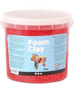 Foam Clay® , röd, 560 g/ 1 hink