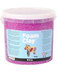 Foam Clay® , neonlila, 560 g/ 1 hink