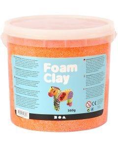 Foam Clay® , neonorange, 560 g/ 1 hink
