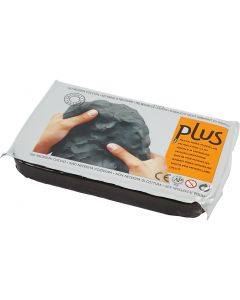 Självhärdande lera, svart, 1000 g/ 1 förp.