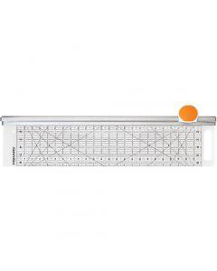 Combo Rotary Cutter & Ruler, L: 62 cm, B: 15,5 cm, 1 st.