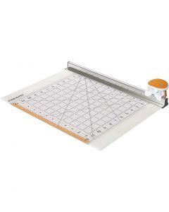 Combo Rotary Cutter & Ruler, L: 31 cm, 1 st.