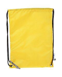 Ryggsäck, stl. 31x44 cm, gul, 1 st.