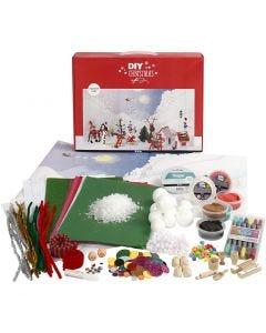 Materialset till jullandskap, 1 set