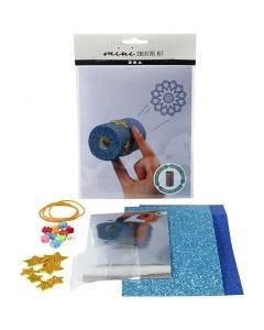 Kreativt Minikit, Toalettrulle kalejdoskop, 1 set