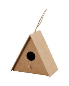 Fågelholk, H: 10 cm, stl. 10x6 cm, 1 st.