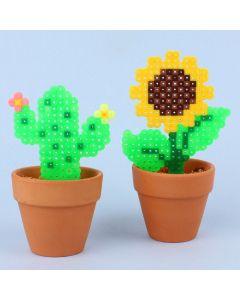 Invitation med tørrede blomster1002UK