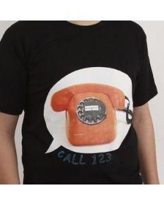 Transfermotiv på T-shirt