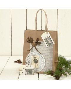 Presentpåse med dekoration