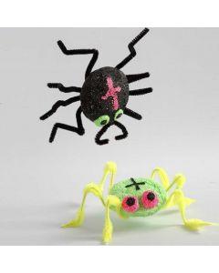 Spindlar av frigolit och Foam Clay