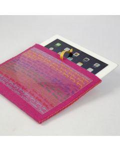 Fodral av filt till iPad och iPhone