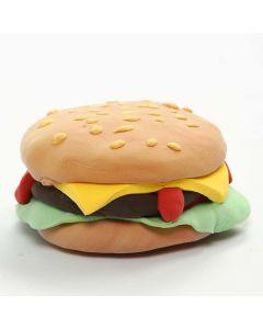 Magnet med hamburgare av Silk Clay