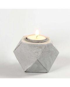 Ljusstake av betong