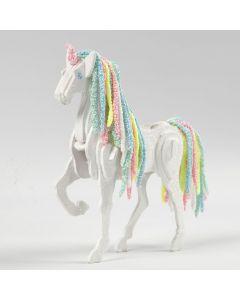 Häst förvandlad till enhörning
