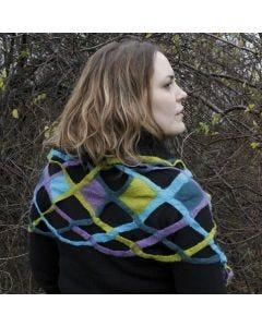 Våtfiltad scarf