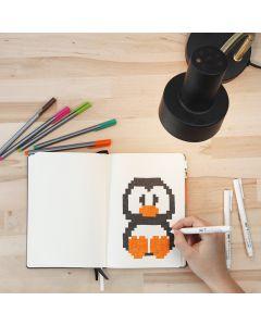 Pixel art i bullet journal