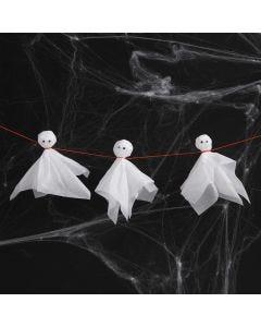 Spöken av silkespapper och rullögon