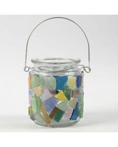 Mosaik på glas