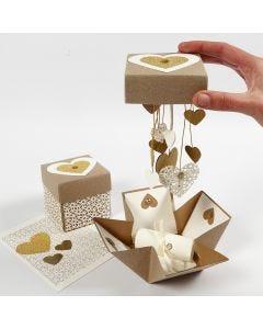 DIY explosion box till bröllop