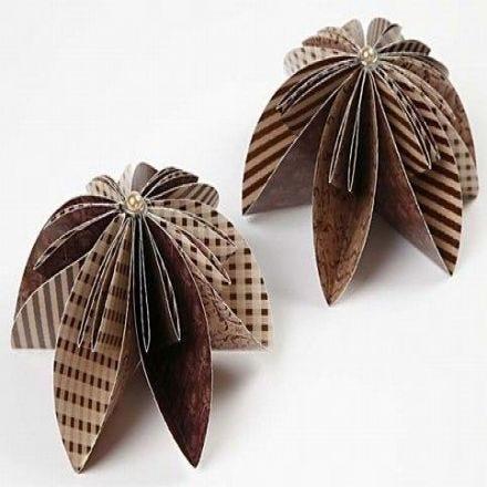 Blomma i origamipapper