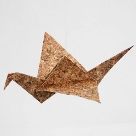 Origamifågel Helsinki