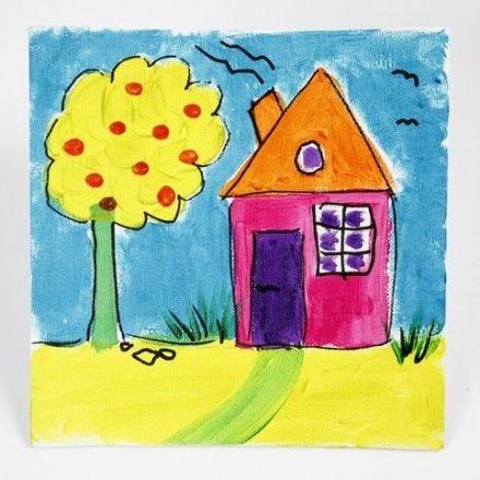 Skinande tavla med A-Color Glass på målarplatta