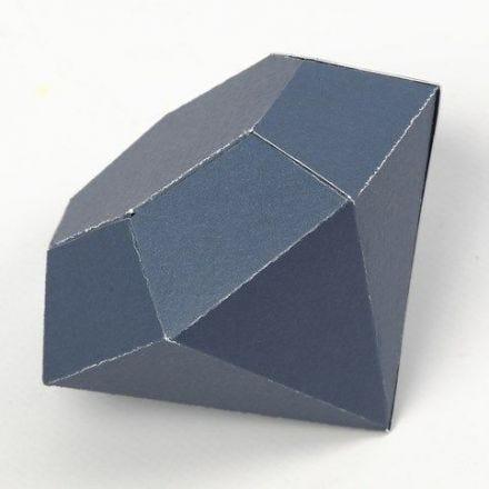 Vikt diamant av kartong