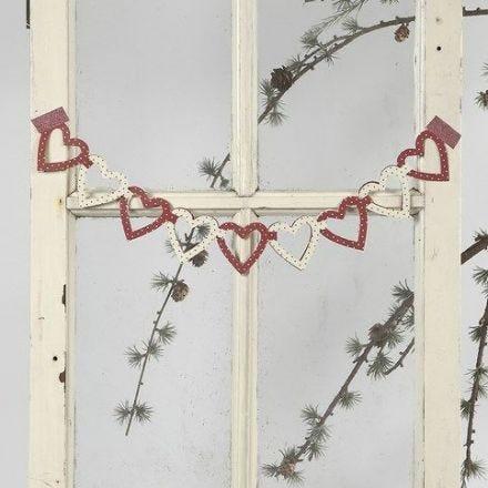 Girlanger av hjärtan från Vivi Gade Design
