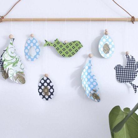 Klippta motiv till vår och påsk i design från Vivi Gade