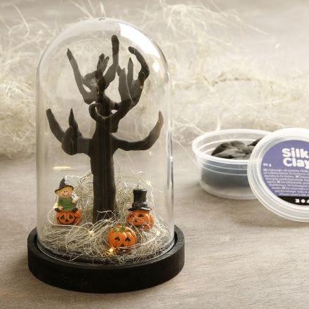 Halloween mini landskap i kupa