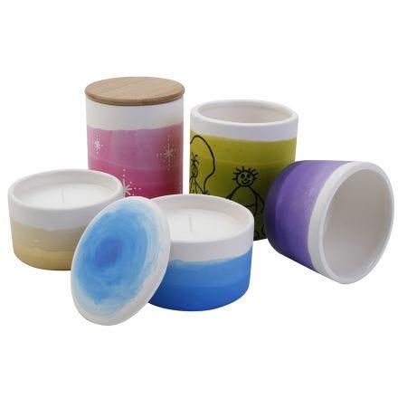 Krukor med dip & dye-teknik