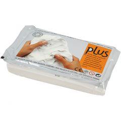 Självhärdande lera, vit, 1000 g/ 1 förp.