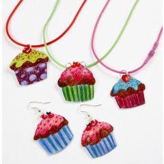 Smycken med cupcakes