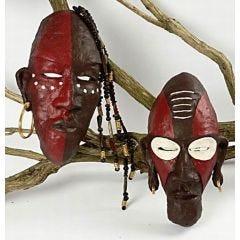 Afrikanska stammasker
