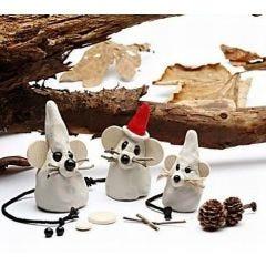 Mus i julstämning