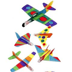 Flygplan med tusch