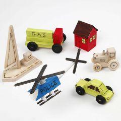 Leksaker av trä