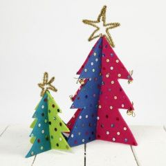 Julgranar av filt
