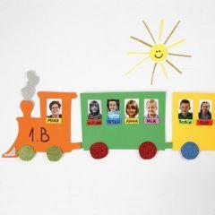 Fotopresentation på tåg av mossgummi