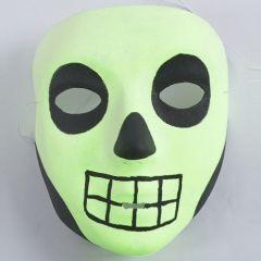 Självlysande masker till Halloween
